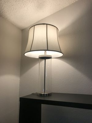 Modern Lamp ( inside is able to be filled with decor) for Sale in Austin, TX