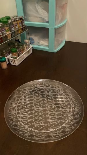 """Large Plastic Decorative Party Platter - 14"""" diameter for Sale in Ithaca, NY"""