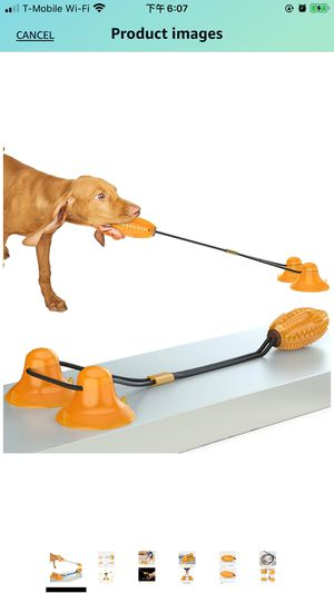 Brand new dog toy suction rope toy for Sale in Issaquah, WA