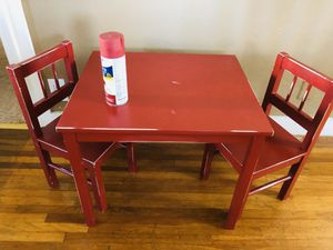 Kids table and chair set for Sale in San Pedro, CA
