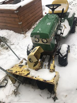 John Deere tractor with 32 inch snow thrower blower complete for Sale in North Royalton, OH