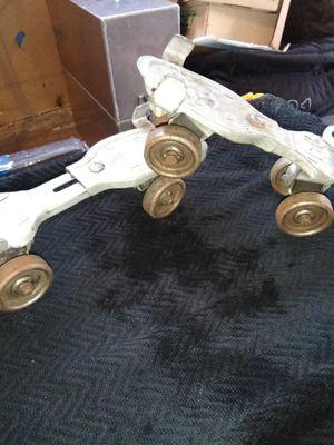 Old vintage metal rollerskates for Sale in Portland, OR