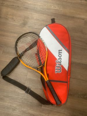 Wilson Tennis Racket and Bag for Sale in Maitland, FL