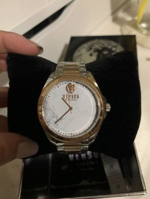 Rose Gold Stainless Steel Versace Watch for Sale in Bellflower, CA