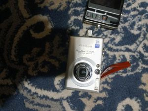 Canon sd600 digital elph&Nikon coolpix touch screen 16.0 wide7x for Sale in East Haven, CT
