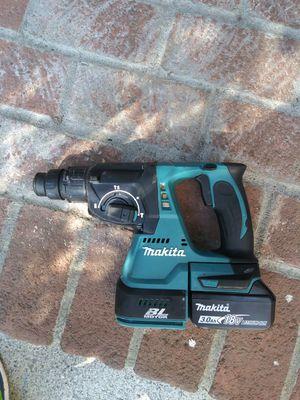 Makita roto hammer brushlees 18vt for Sale in Sunnyvale, CA