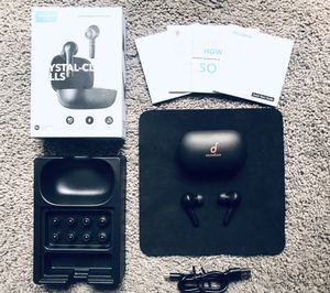Soundcore total wireless headphones, open box (never used) for Sale in Boston, MA