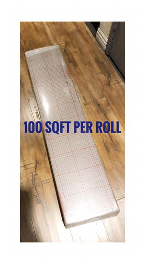 New 3 in 1 3mm Flex Fold Gray Underlayment /Each roll $30 (100 S.F./Per Roll) for Sale in Fontana, CA