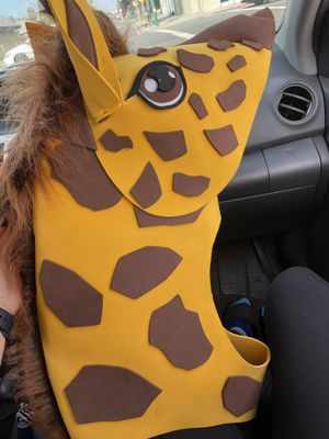 Giraffe hat / costume for adult for Sale in San Diego, CA