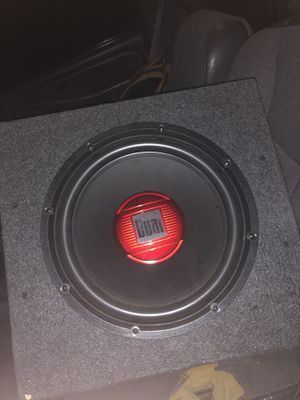 "12"" dual subwoofer for Sale in Fort McDowell, AZ"
