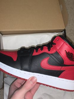 Jordan 1 Mid 'Banned' - Size 6.5W for Sale in Beaverton,  OR