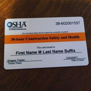 30 Hour OSHA for Sale in Brooklyn, NY