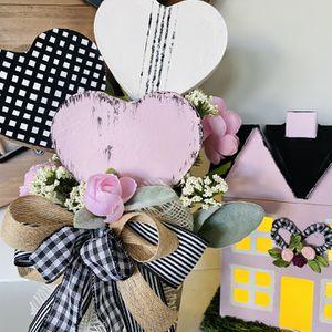 Pink Rustic Valentine Arrangement for Sale in Covington, GA