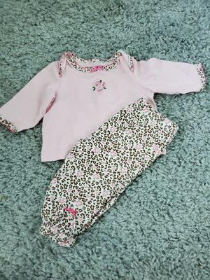 """Little Me """"Darcie"""" 3 month Leopard Outfit for Sale in Salisbury, MD"""
