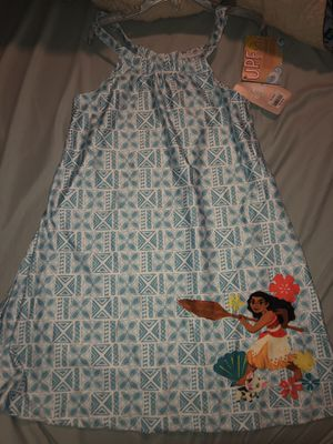 Brand new Disney's Moana girls cover up dress, size 7/8 for Sale in Miami, FL