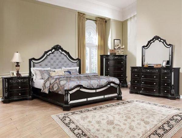 SPECIAL] Bankston Darkhs Brown Panel Bedroom Set