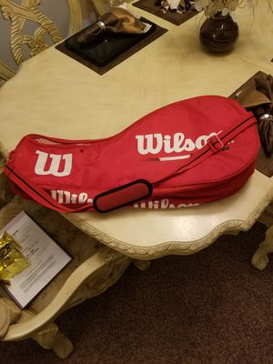 Wilson Tennis Bag holds 6 rackets racquets...Lindsay and Riggs for Sale in Chandler, AZ