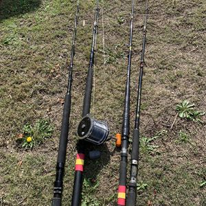 Deep Sea Fishing Rods And Reel for Sale in Cypress, CA