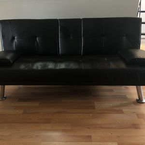 EUC Black Futon for Sale in Portland, OR