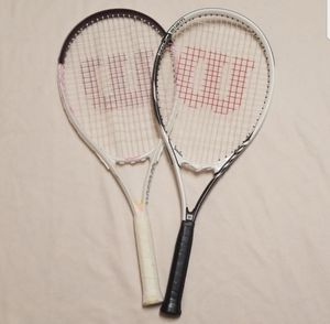2 wilson tennis rackets for Sale in Beaumont, CA