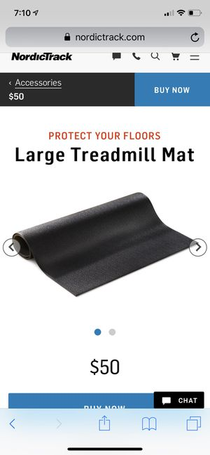 NordicTrack Treadmill Exercise Equipment Mat for Sale in North Las Vegas, NV