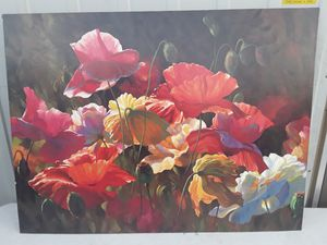 Floral Canvas painting for Sale in Fresno, CA