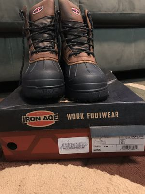 Iron Age steel toe boots for Sale in Raleigh, NC