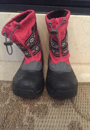 Snow boots for kids are in good condition for Sale in MONTGOMRY VLG, MD