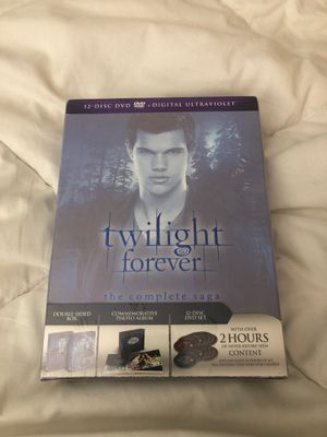 Twilight Forever The Complete Saga DVD&Digital for Sale in Corona, CA