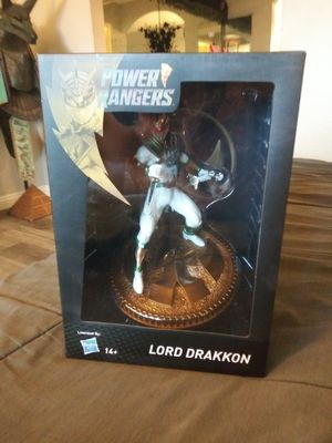 Power rangers lord drakkon pcs collectibles statue for Sale in Mission Viejo, CA