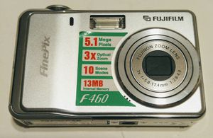FujiFilm Finepix F46 Digital Camera And Battery for Sale in Brevard, NC
