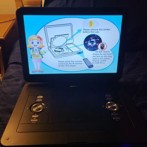 17.9 Inch Wonnie Portable DVD Player for Sale in Weymouth, MA