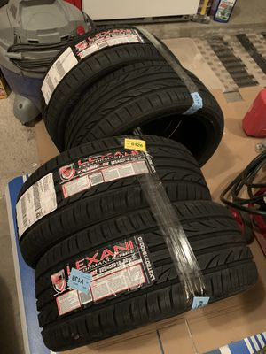 Lexani All Season Tires! 225/40ZR 18's. BRAND NEW for Sale in Arvada, CO