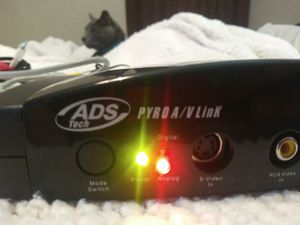 ADS Pyro A/V Link in Excellent Condition w/ Extra Cables! for Sale in Bixby, OK