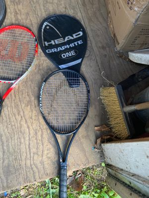 Head graphite one tennis racket with head cover for Sale in Gresham, OR