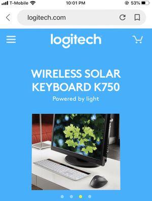 Logitech wireless keyboard for Mac BRAND NEW STILL IN BOX for Sale in Pembroke Pines, FL