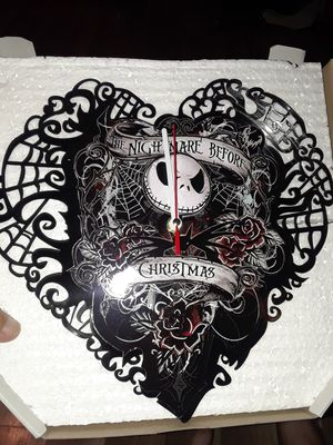 3 new nightmare before Christmas clocks still in box selling all together for Sale in Sherman, TX