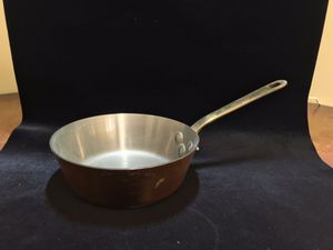 """6.5"""" Vintage Villedieu French Copper Saucepan / Pot for Sale in Columbia, MD"""