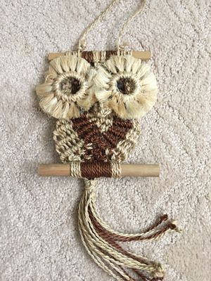 Wall decor owl for Sale in Fullerton, CA