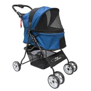 Pet and Pets Catalina Pet Stroller in Blue for Dogs, Cats, and Small Animals for Sale in Ontario, CA