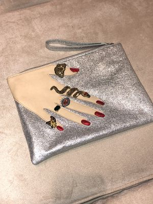 Sam Edelman Metallic Wristlet for Sale in Philadelphia, PA