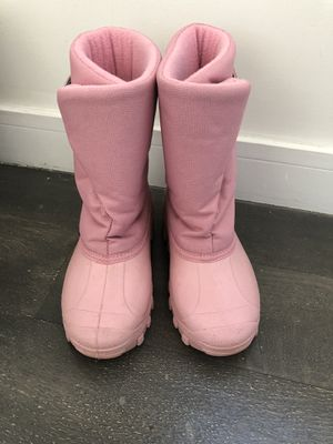 Kids Tundra Snow Boots Pink for Sale in New York, NY