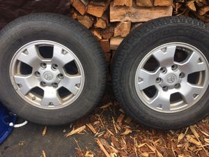4 wheels/tires came off small pickup- 235/70 R 16 for Sale in Aberdeen, WA