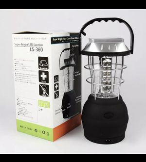 Camping Lantern, Portable High Lumen Outdoor Camping Flashlight Torch Light, Bright Survival Equipment Gear Kit for Emergency, Hiking, Tent, Backpack for Sale in Ontario, CA