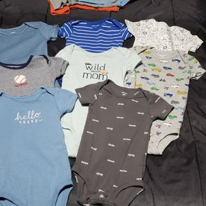 Lot Of Baby Boy Clothes 6 To 9 Months for Sale in Columbus, OH