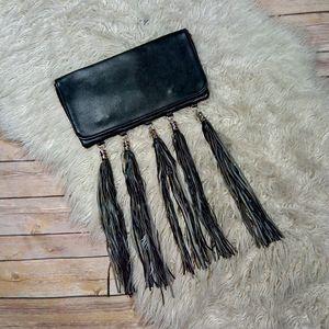 Unbranded | Faux Leather Tassel Fringe Clutch Bag for Sale in Henderson, NV