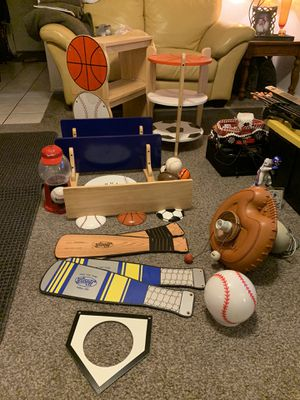 Sports ceiling fan and shelves for Sale in Gilbert, AZ
