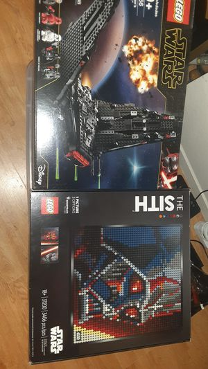 LEGO Star Wars SeT # 75256 KYLO 31200 SITH for Sale in Las Vegas, NV