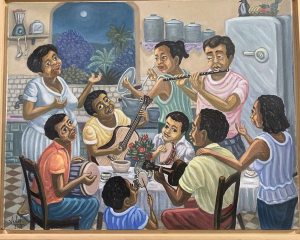 Arte naïf from Brazil