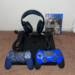 PS4 Slim + Extras ( Price Firm) for Sale in Los Angeles, CA